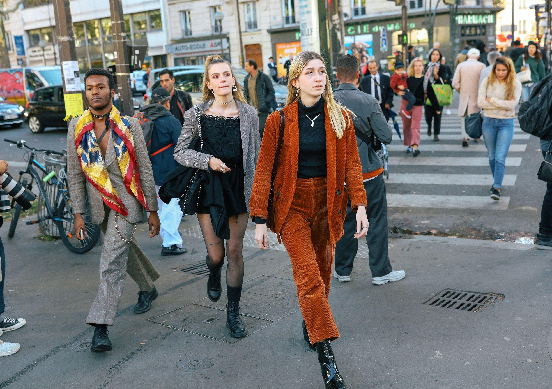 phil oh s best street style photos from paris fashion week spring rh pinterest com