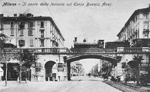 Ponte-Buenos Aires ai primi del novecento