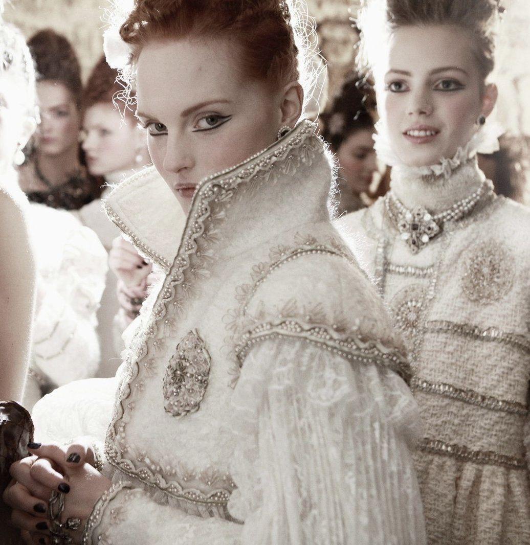 Novias barrocas de invierno - Chanel