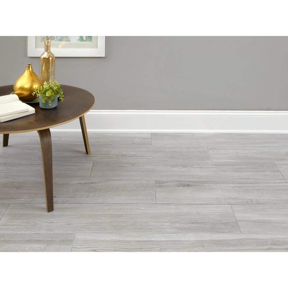 Cleveland Gris Wood Plank Porcelain Tile 9 X 47 100480680