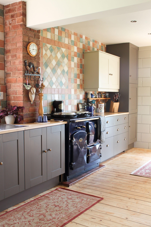 handpainted kitchen little green attic ii house interior interior interior design on kitchen interior green id=95700