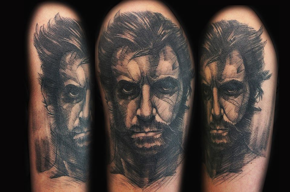 Would You Let This Artist Improvise A Tattoo On You? These