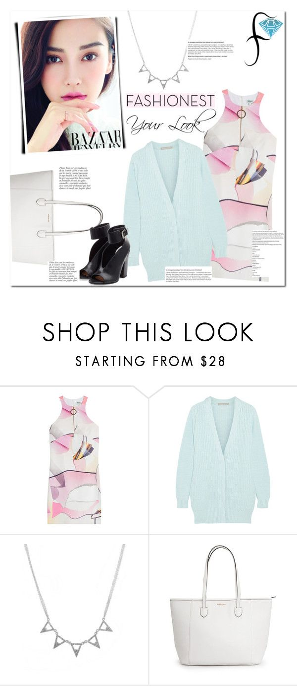 """No 256:Fashionest: Trendy Fashion Jewelry"" by lovepastel ❤ liked on Polyvore featuring Kenzo, Richard Nicoll, Laurence Dacade, Anja and fashionest"