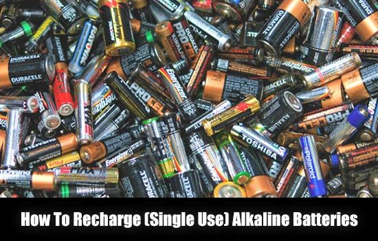 How To Recharge Single Use Alkaline Batteries Shtf Emergency Preparedness Survival Prepping Homest Survival Prepping Alkaline Battery Emergency Prepping