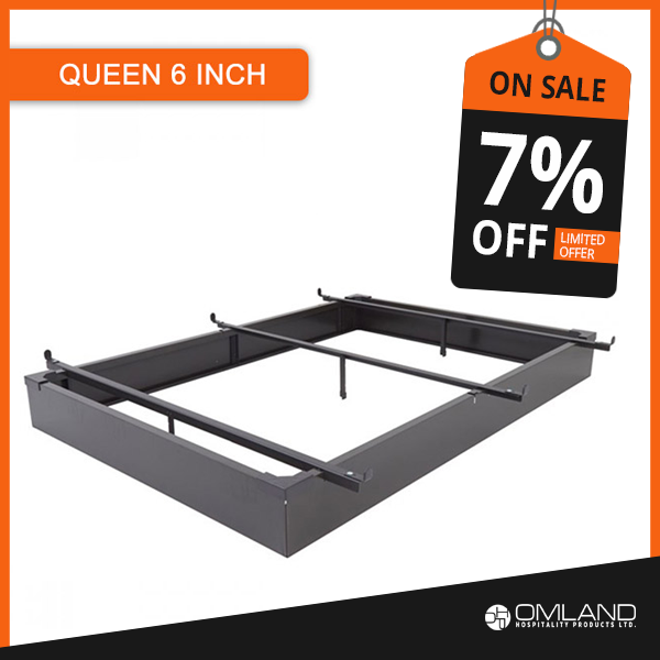 Heavy Duty Metal Construction Queen Size Bed Base On Sale Bed