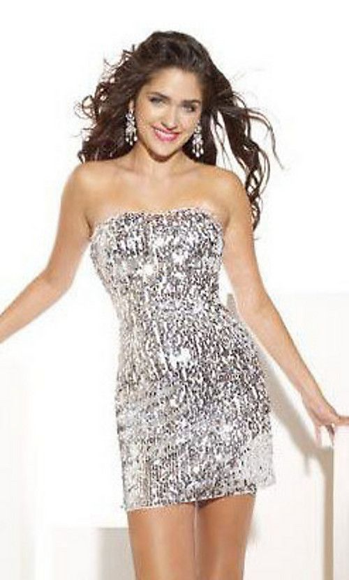 short black and white sweet sixteen dress