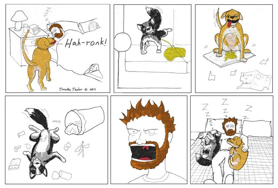 Alpha Dog? a comic about man's best friends. Blog - Rabbit Hole Media