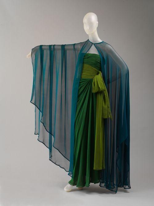 Yves Saint Laurent dress ca. 1989 via The Costume Institute of the Metropolitan Museum of Art