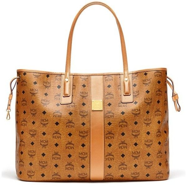 Women's Mcm 'Large Liz' Reversible Shopper (€635) ❤ liked