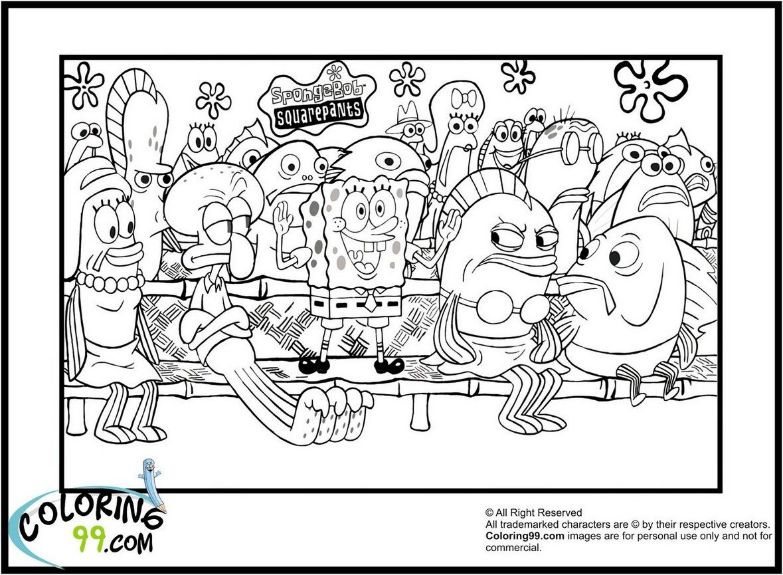coloring page spongebob printable | Coloring Board | Pinterest