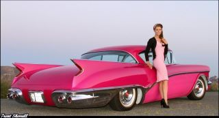I you for your Pink Cadillac. Crushed velvet seats. Riding in ...