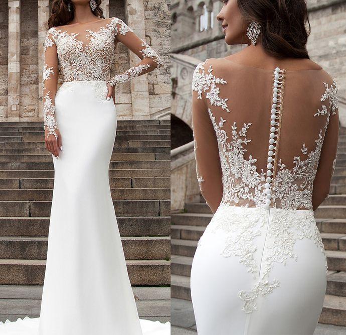 new hot bridal dresses lace Chiffon dresses prom dresses #lacechiffon