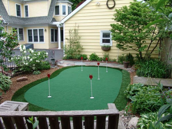 15' x 28' 5-Hole Pro Backyard or Indoor Putting Green ...