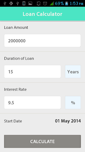 simple loan emi calculator the tool helps user to quickly calculate emi and view payment