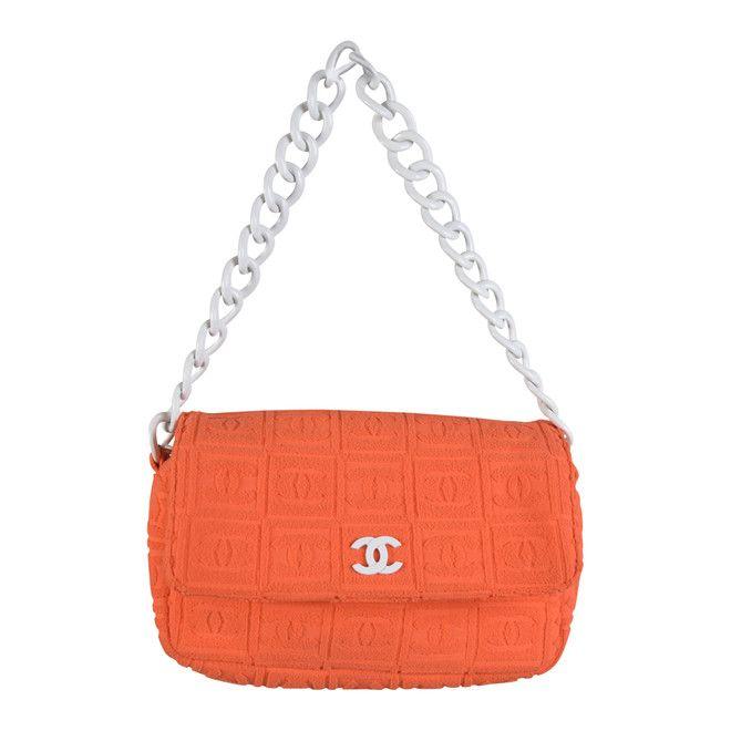 566ea67c638 tweedehands Chanel Handtas | Handbags I Need in 2019 | Orange bag ...