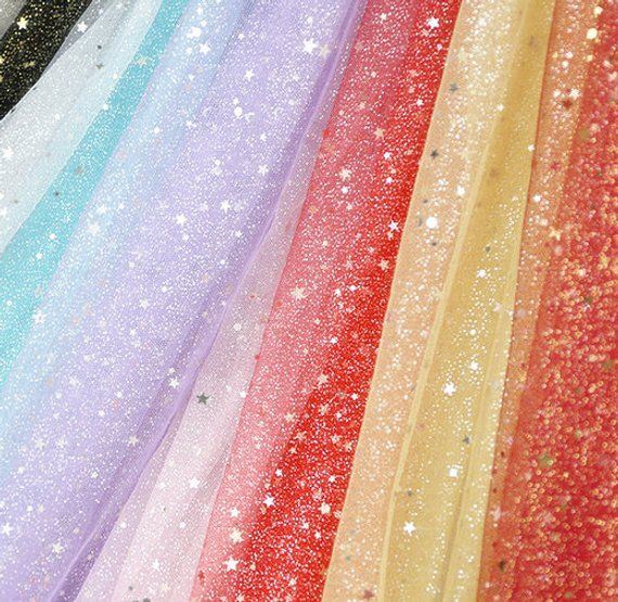 sequins mesh fabric tulle material ball gown bubble skirt dress curtain  sofa cover upholstery weddin abb40677644f