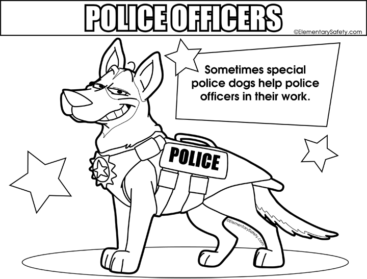 Police Dog Coloring Pages Dog Coloring Page Coloring Pages Police Dogs