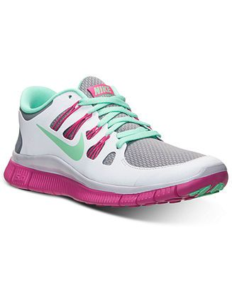 separation shoes a72c9 753b9 Nike Women s Free 5.0+ Reflective Sneakers from Finish Line - Kids Finish  Line Athletic Shoes - Macy s
