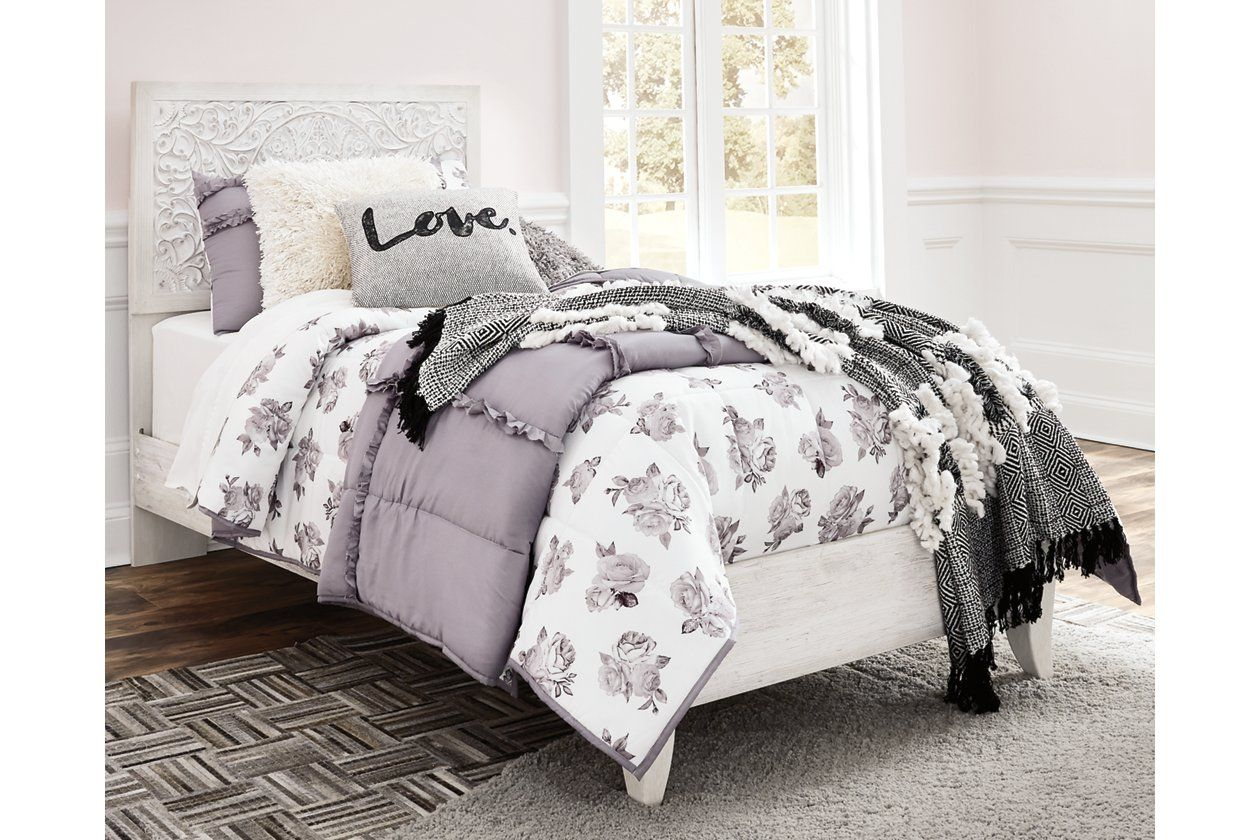 Paxberry Queen Panel Bed Ashley Furniture HomeStore in