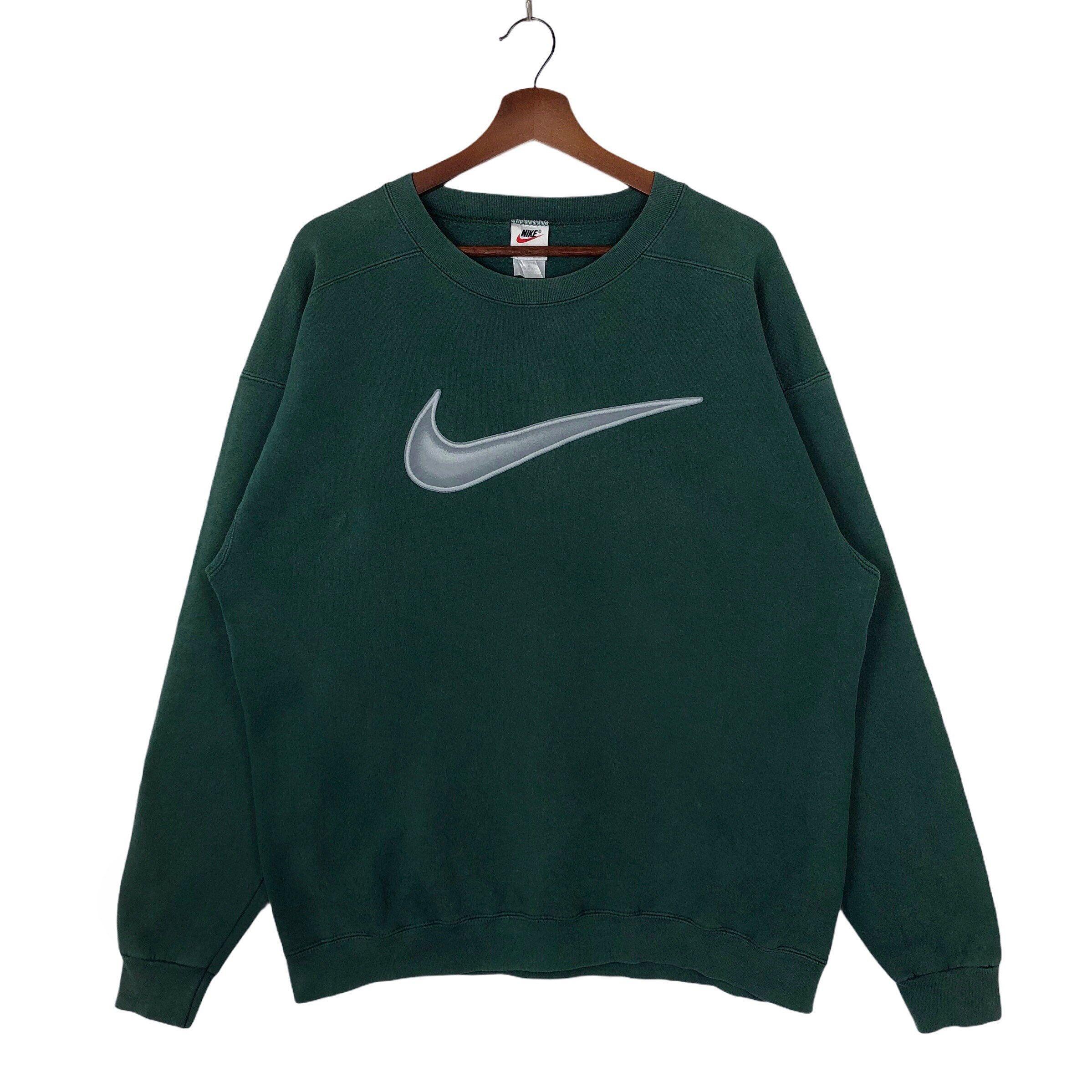 Predownload: Vintage Green Nike Sweatshirt Crewneck Neon Nike Swoosh Big Logo Nike Vintage Sweatshirt Pullover Jumper Made In Usa Vintage Sweatshirt Vintage Nike Sweatshirt Sweatshirts [ 2398 x 2398 Pixel ]
