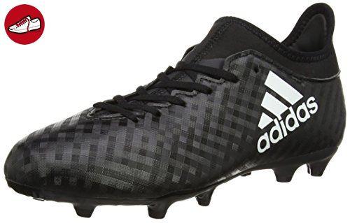 adidas Unisex-Kinder X 16.3 Fg Fußballschuhe, Schwarz (Core Black / Ftwr  White