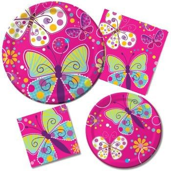 a02cf141911 Butterfly Sparkle - Party at Lewis Elegant Party Supplies