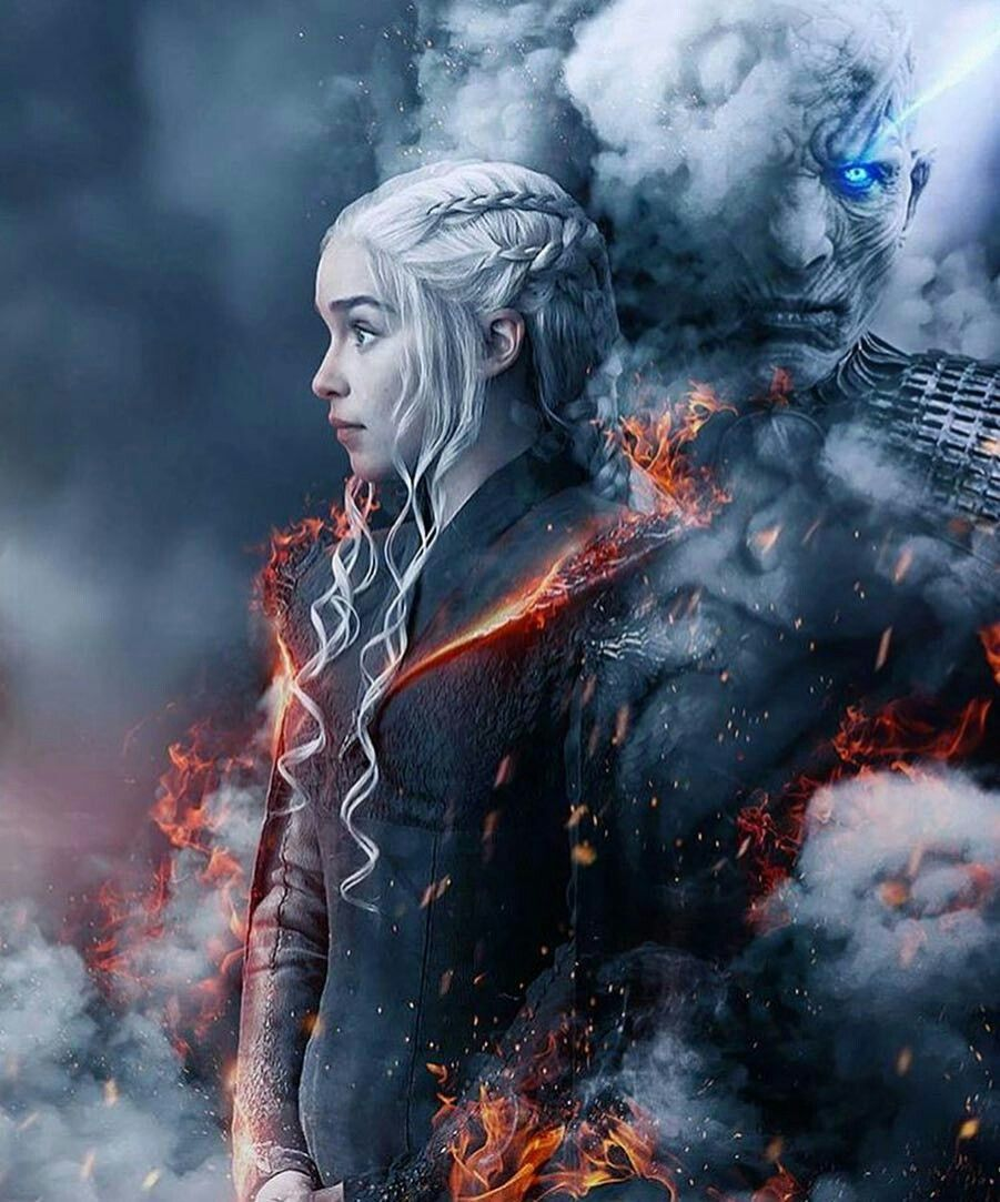 Daenerys And The Night King