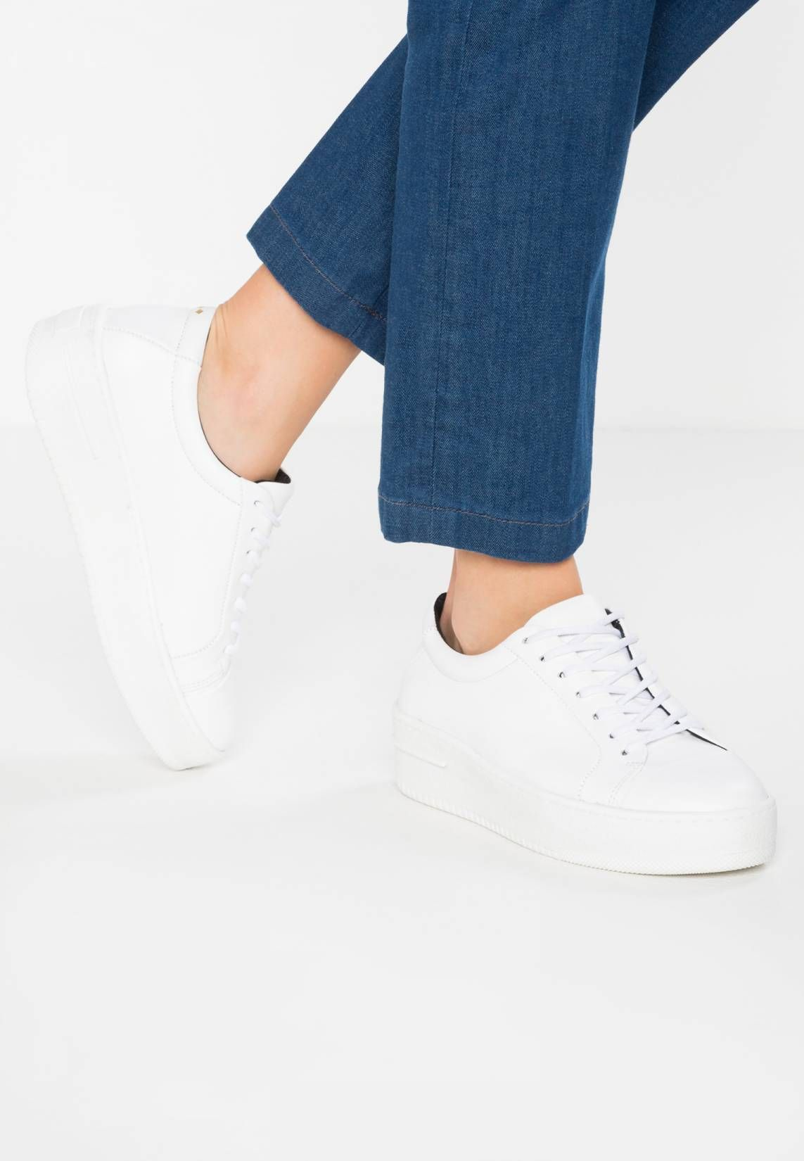 SEVEN20 BASE - Trainers - white . Pattern:plain. Sole: