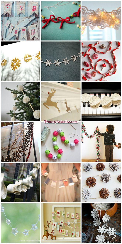 Pin de en manualidades y adornos para - Decoraciones navidenas manualidades ...