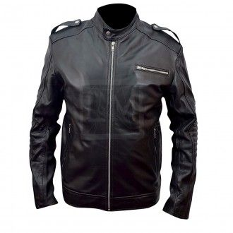Iron Man 3 Tony Stark Black Cowhide Leather Jacket Robert Downey Jr Leather Madness Leather Jacket Style Leather Jacket Black Cowhide