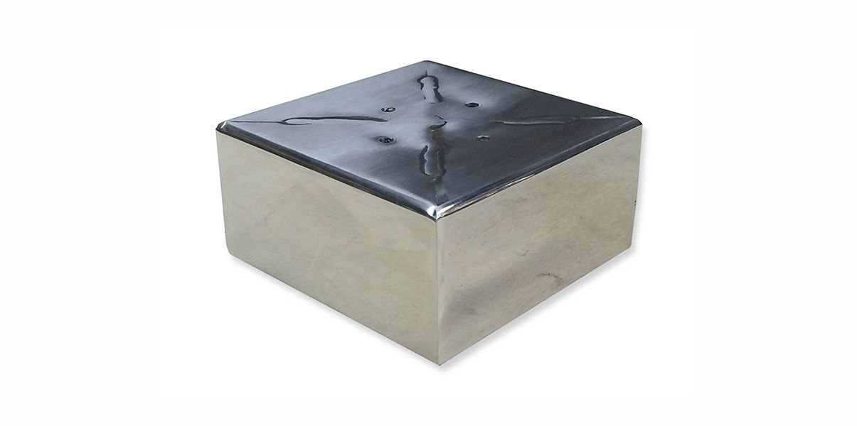 Winona Metal Furniture Legs Are 4 X 4 X 2 H 304 Stainless Steel Tubing Welded Into A Box Shape There Metal Furniture Legs Furniture Legs Plastic Flooring