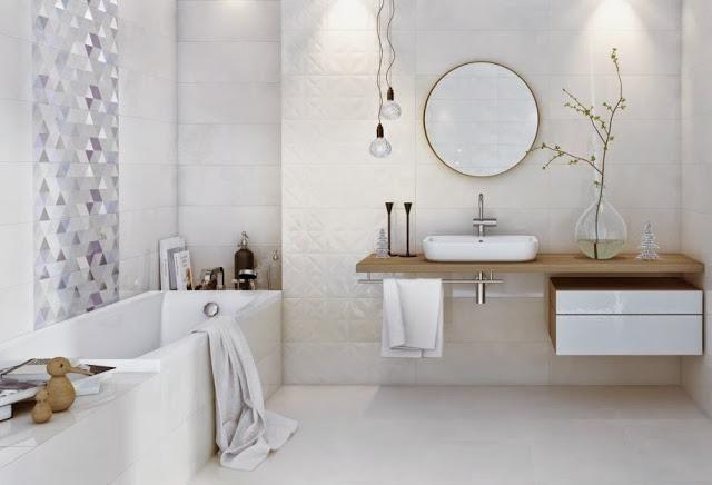 carrelage blanc pour les salles de bains 9 exemples essentiels 3