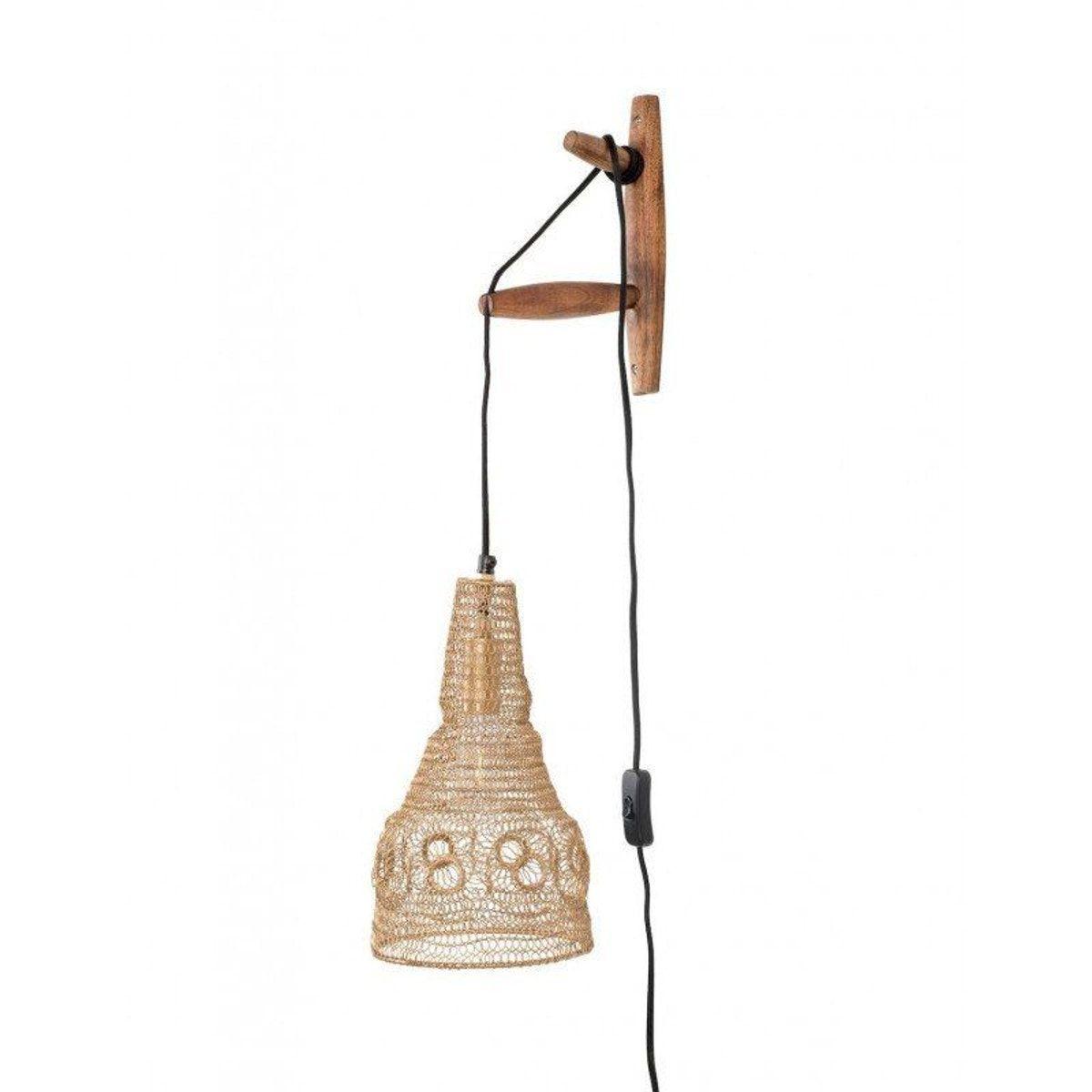 Lampe Murale Suspendu En Metal Maille Alen Boite A Design En 2020 Lampe Murale Parement Mural Lamp