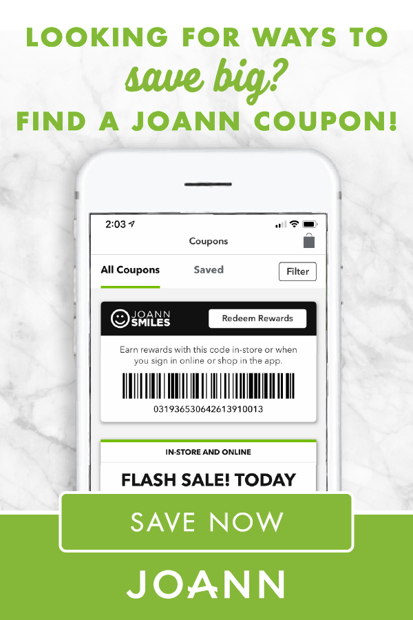 Joann Coupon 40 Off One Regular Priced Item Store Coupons