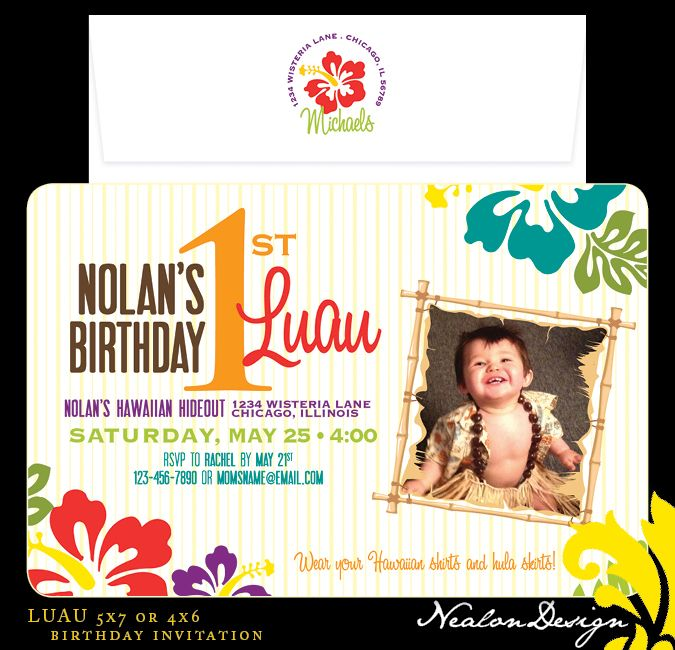 First birthday luau ideas luau birthday invitation 1st luau first birthday luau ideas luau birthday invitation filmwisefo