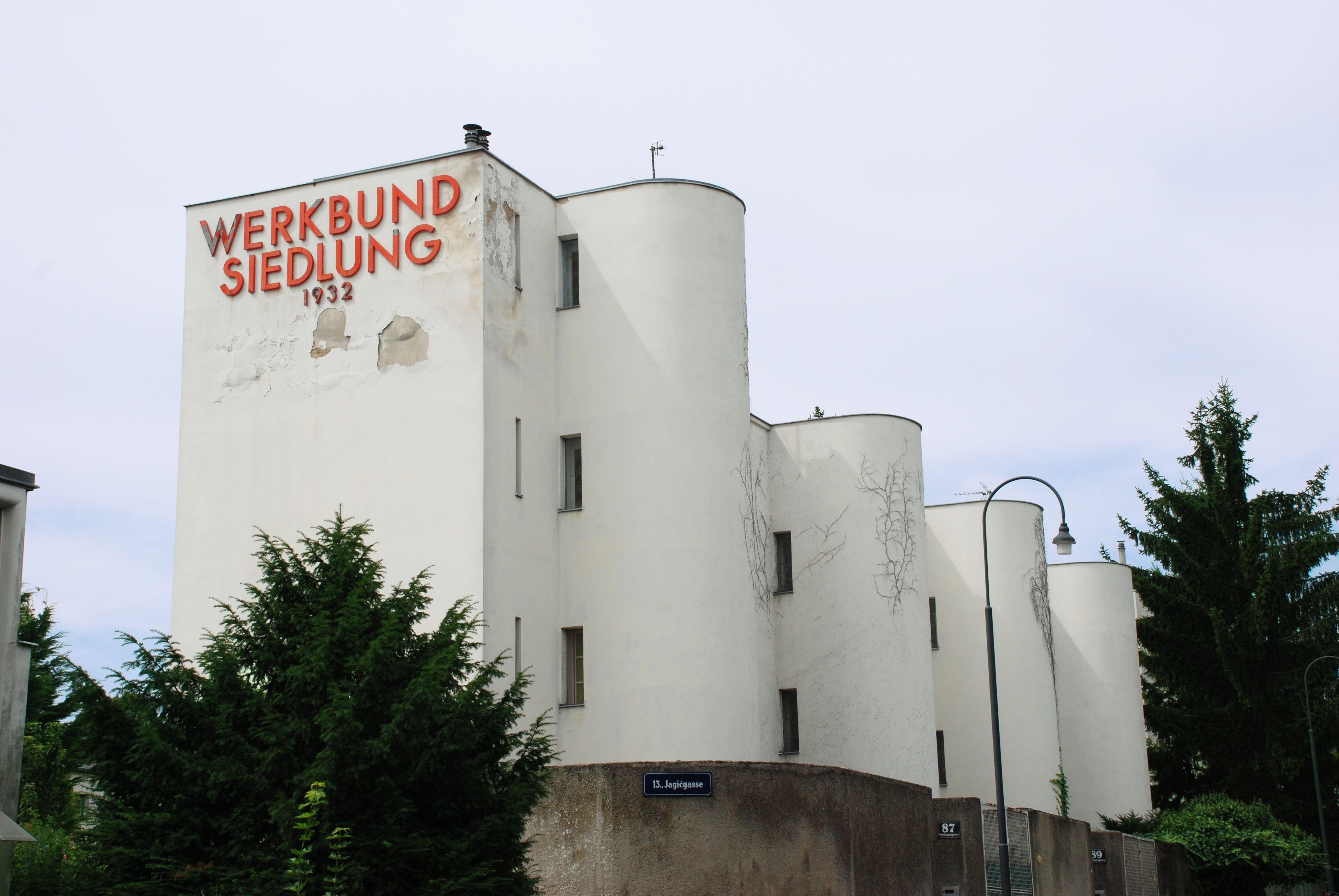Modern Architecture Vienna housesandre lurçat in the werkbundsiedlung in vienna. the