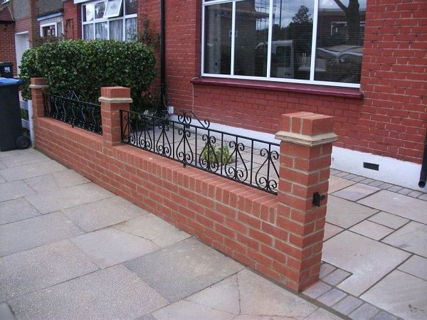Front Garden Wall Designs   Google Search