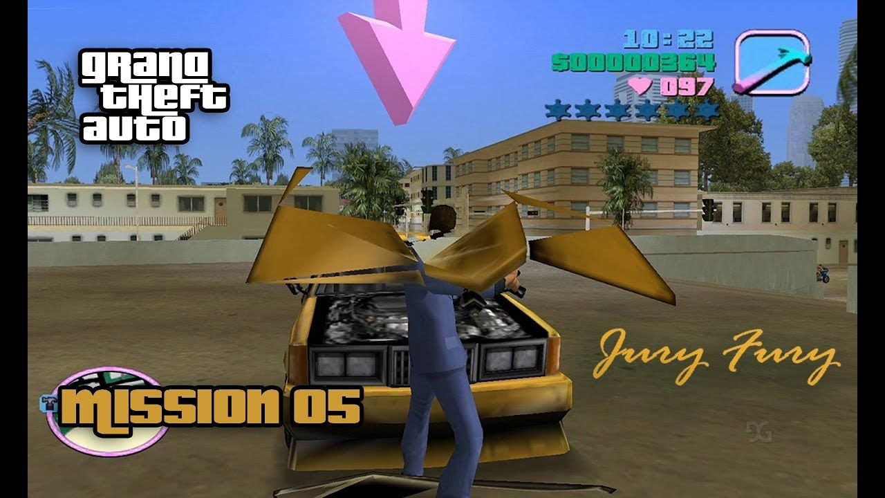 GTA Vice City - #5 Mission - Jury Fury   GTA VC   Gta, Grand