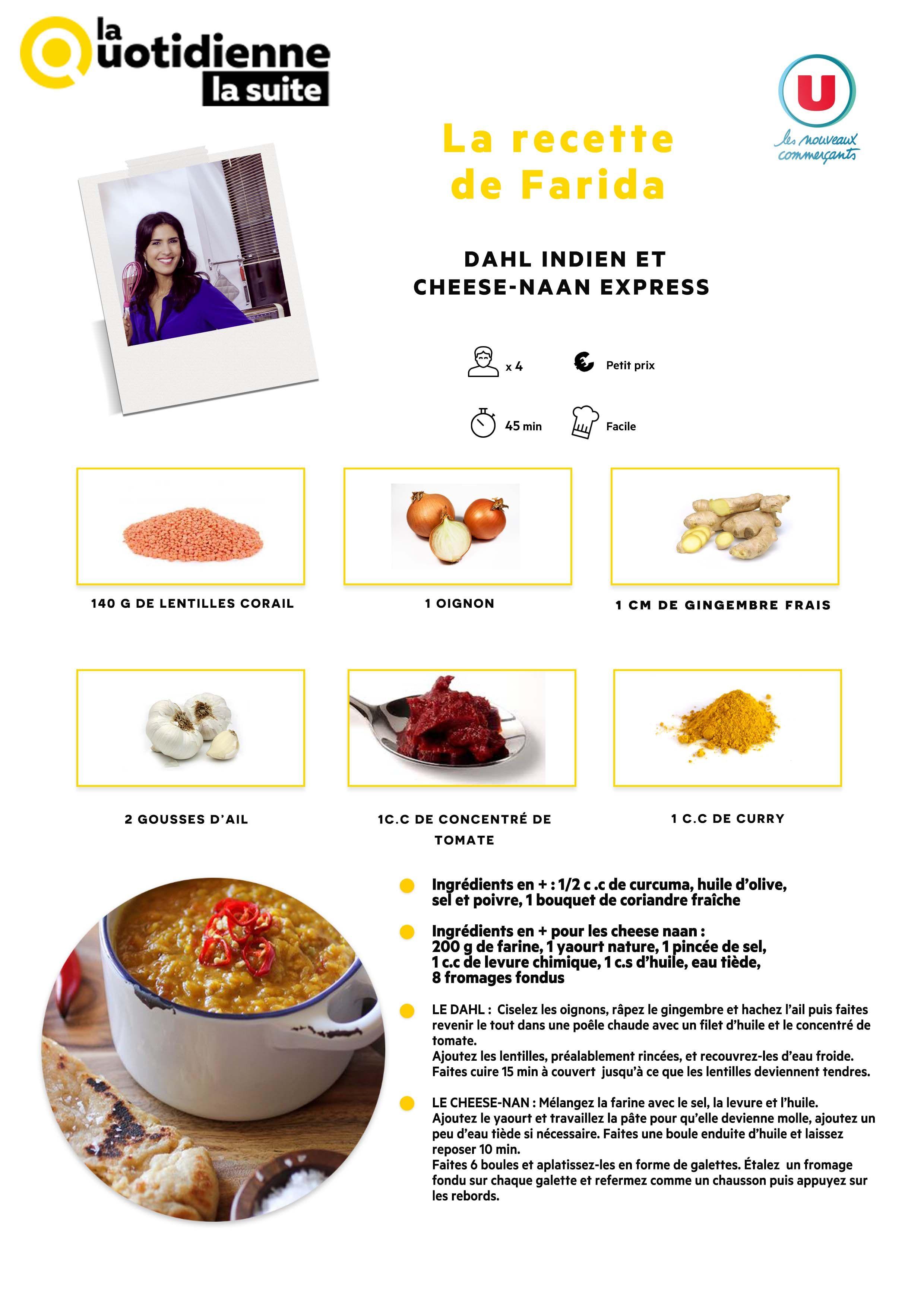 Les recettes la quotidienne la suite france 5 for Cuisine quotidienne