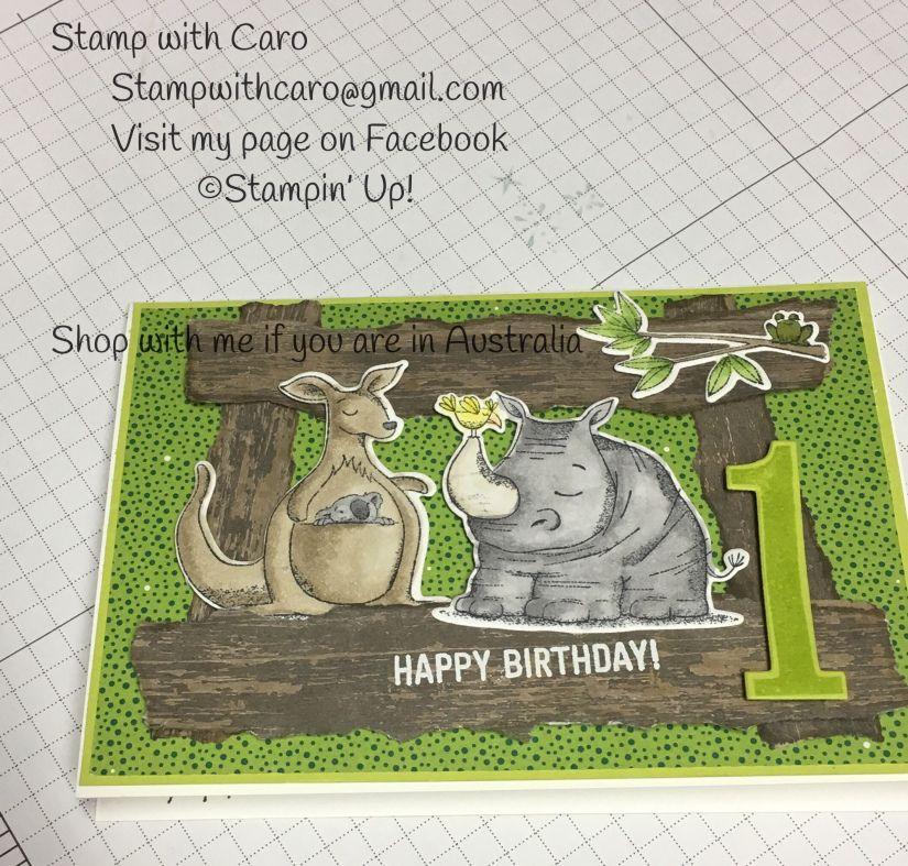 Animal Outing Birthday Card Birthday Cards Special Birthday Cards Cards