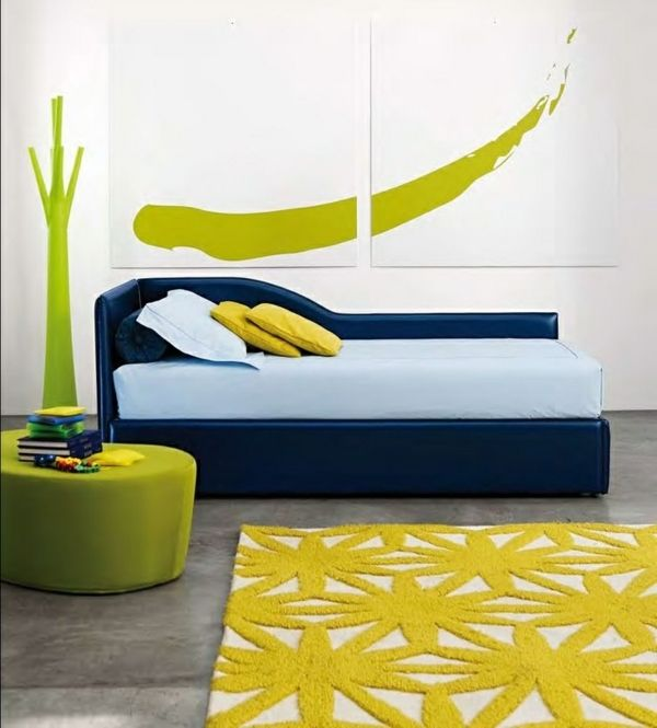 Tagesbett Design Ideen für gemütliche Leseecke im Haus oder Garten - ideen fur leseecke pastellfarben