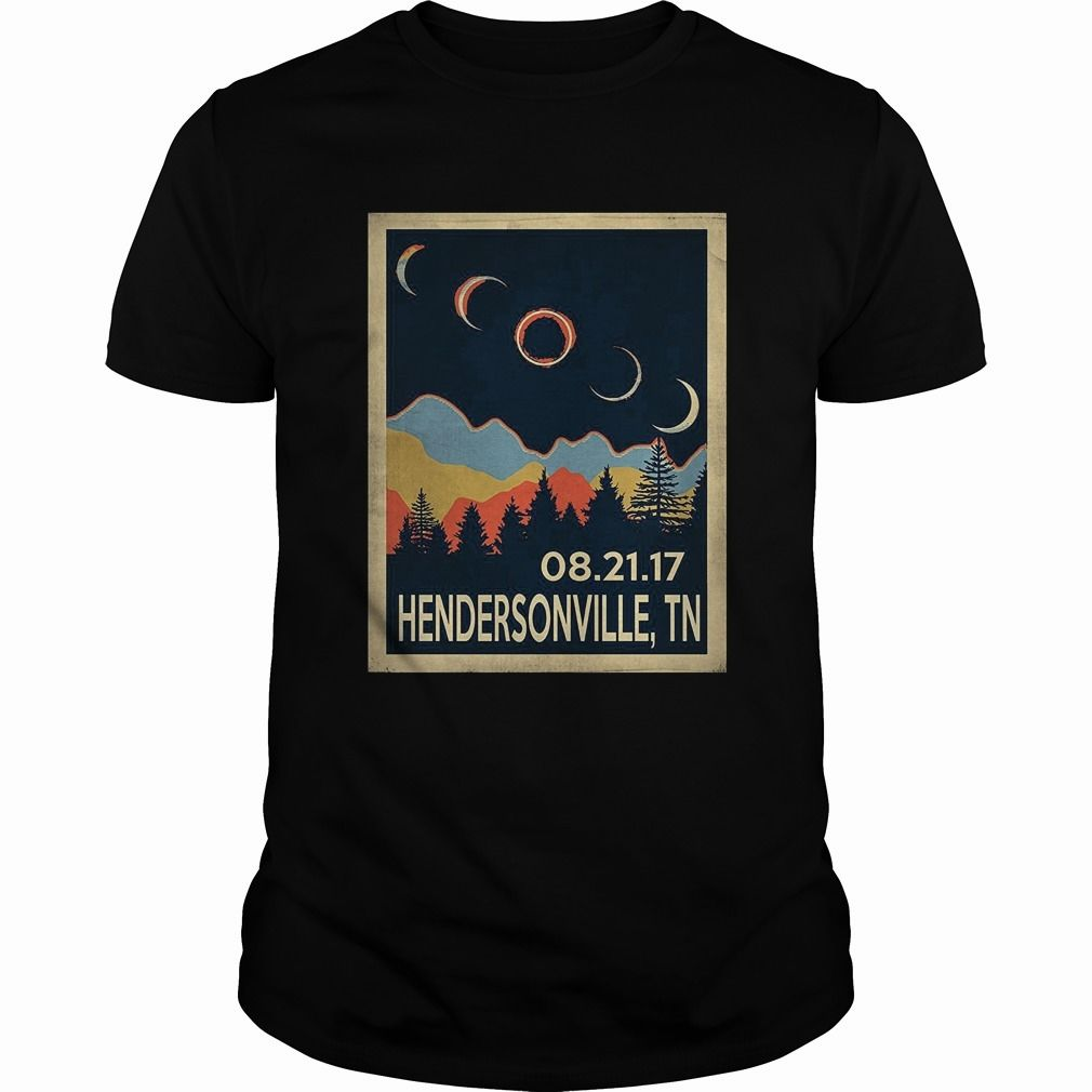 Vintage Hendersonville Tennessee #Solar #Eclipse 2017 Tshirt, Order HERE ==> https://www.sunfrog.com//135966563-979571516.html?54007, Please tag & share with your friends who would love it, #jeepsafari #birthdaygifts #superbowl