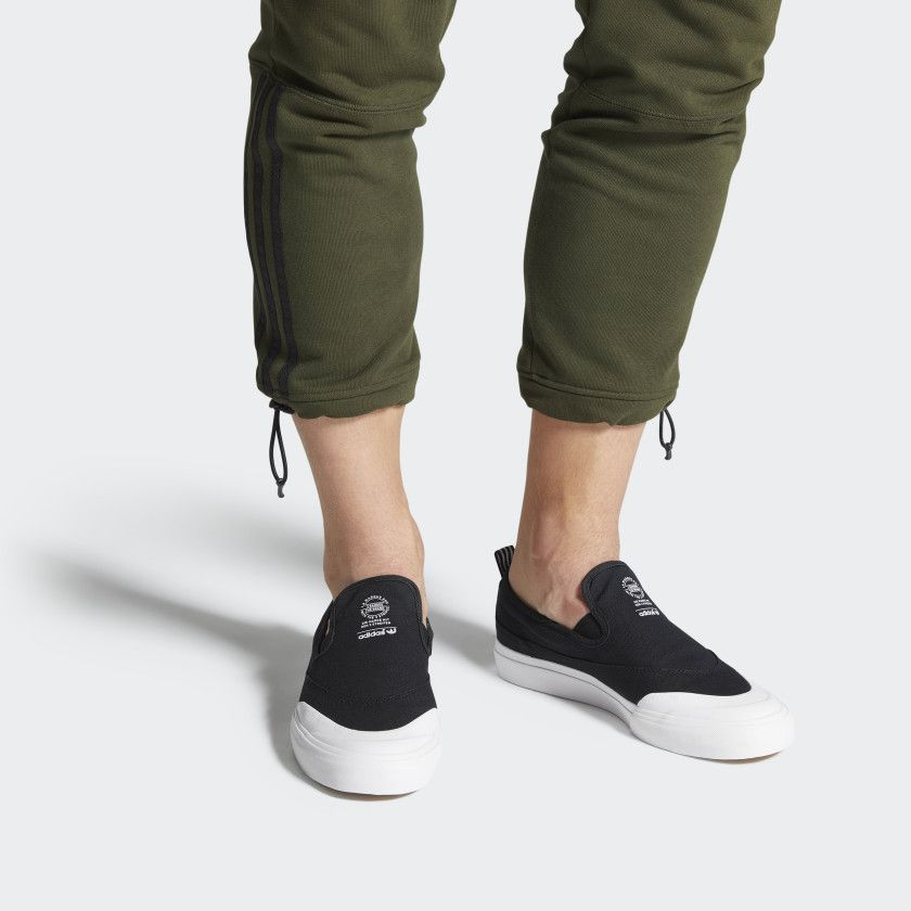 Matchcourt Slip On ADV Shoes Core Black Core Black Cloud