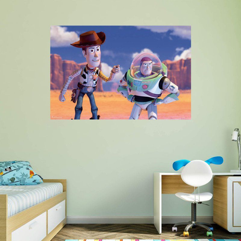 Fathead Toy Story Woody and Buzz Wall Mural 74 74543 Products