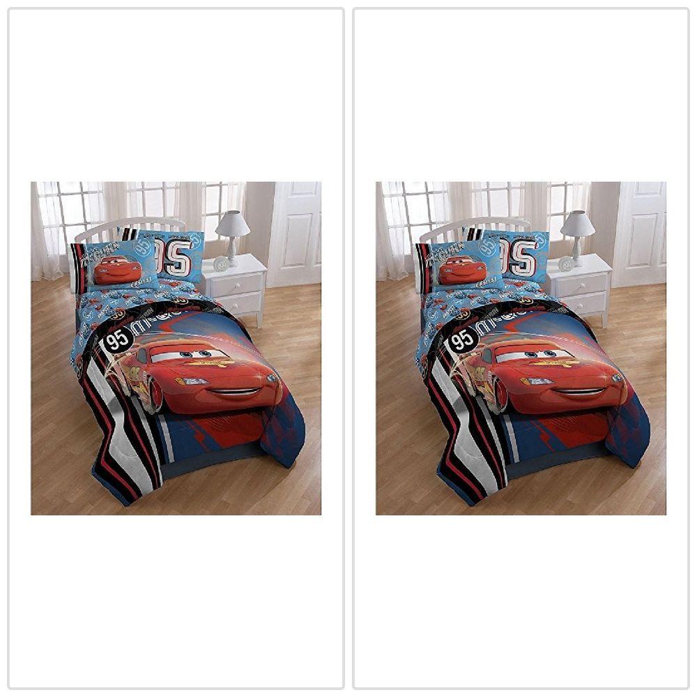 Lightning Mcqueen Comforter Full Reversible Super Soft