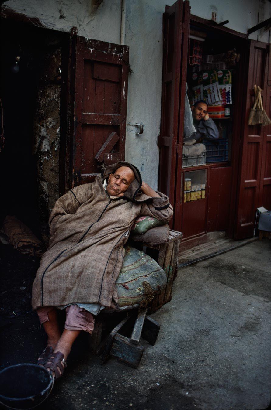 Sleepy Morocco - Steve McCurry