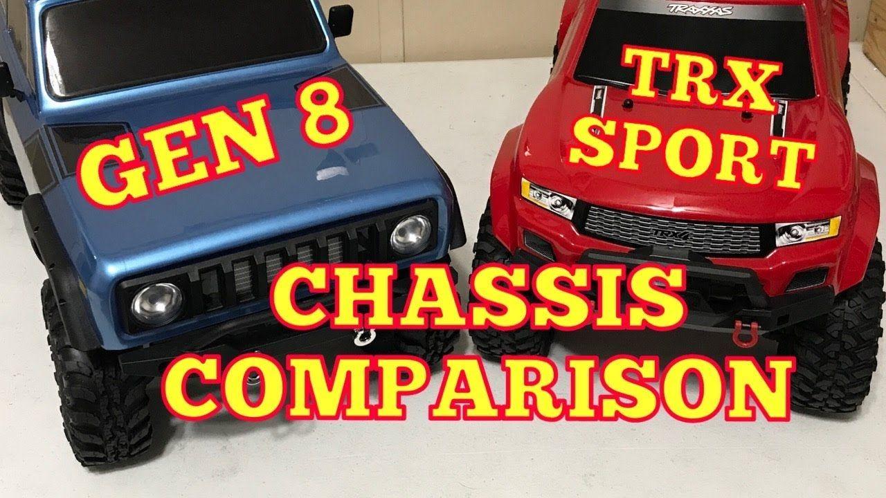 Redcat Gen 8 vs Traxxas TRX 4 Sport chassis Trx, Trx