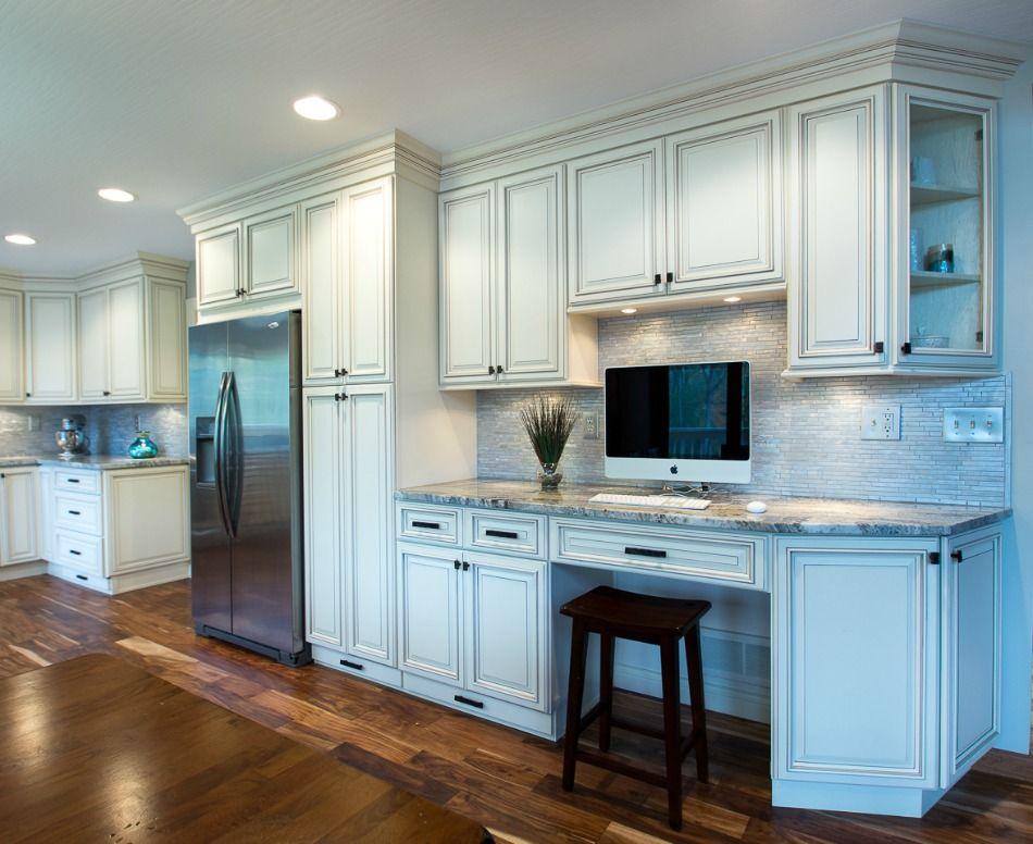 Signature Vanilla Glaze Ready To Assemble Kitchen Cabinets