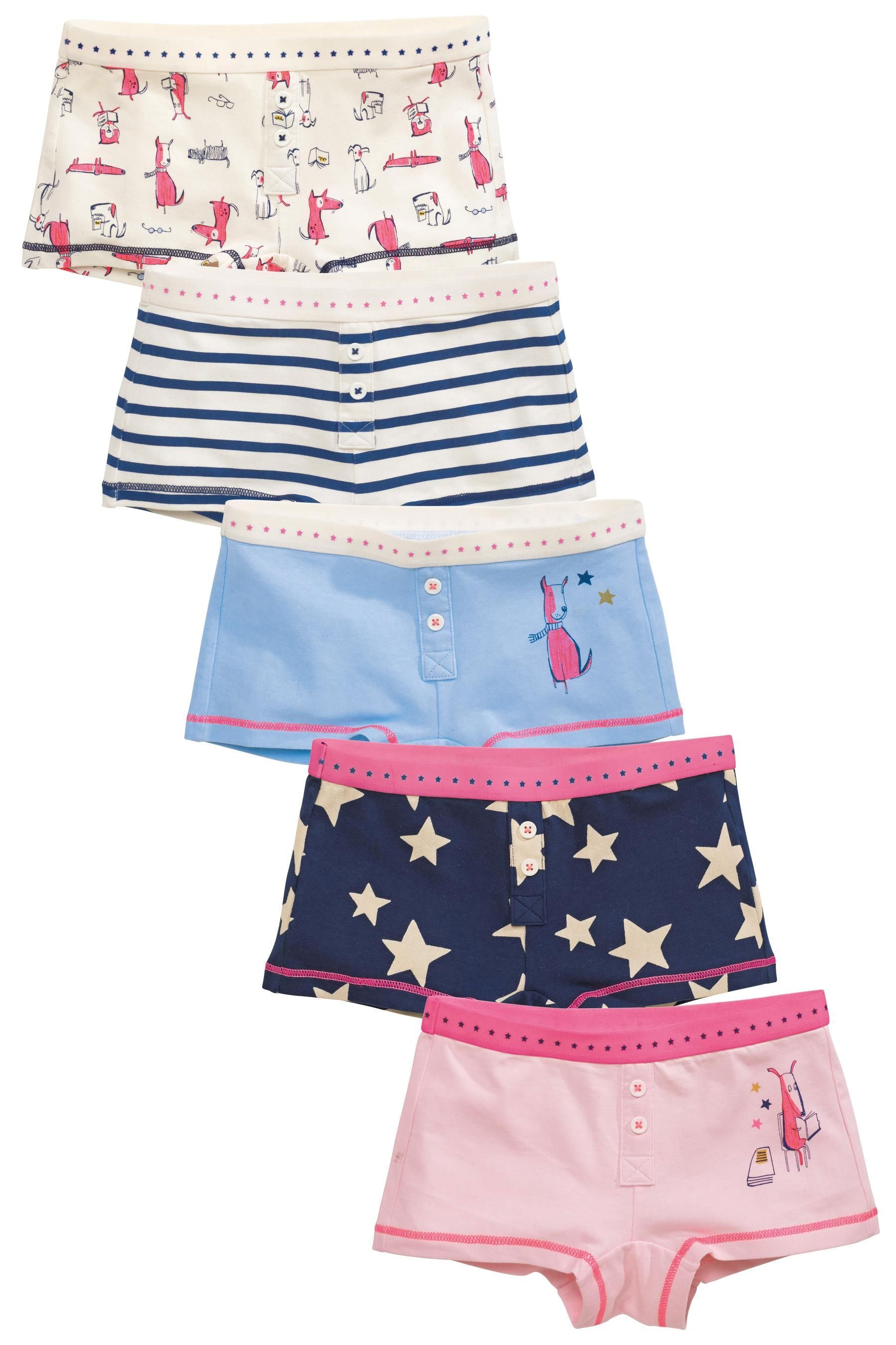 4c9f6ea081 Buy Five Pack Dog Boxers (3-16yrs) from the Next UK online shop ...