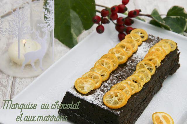 Dans la cuisine de Gin | Marquise au chocolat, Desserts de ...